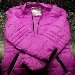 Justice girls puffer jacket